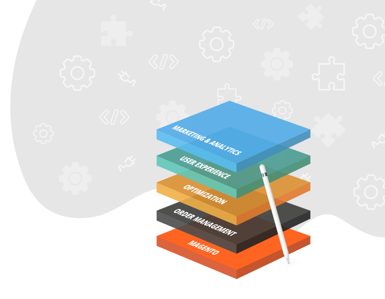 Stack. Framework and Extension Pack updating magento page.