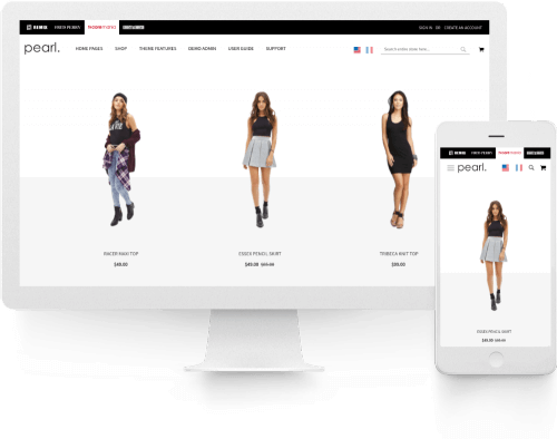 Stack. Framework and Extension Pack page Magento 2 Enhanced Multi-Store Multi-Brand snapshot.