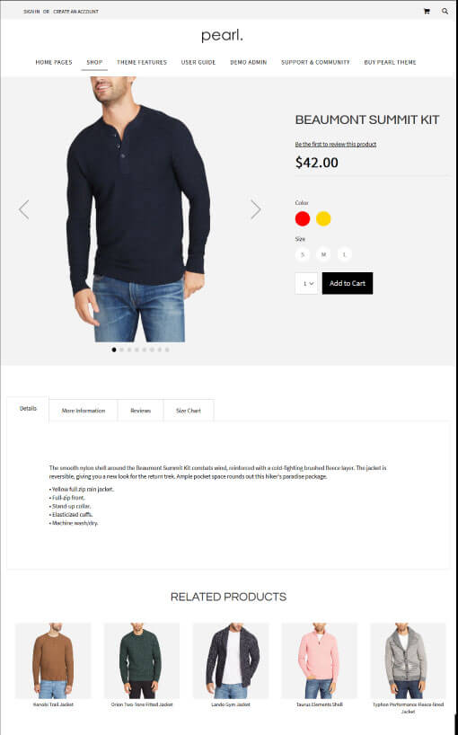 Product Page V3